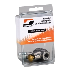 Dynabrade DynaJet Safety-Tip In-Line Blow Gun