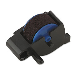 Dymo Blue Replacement Ink Rollers for Electronic Date/Time Stamper, 5 Rollers/Card
