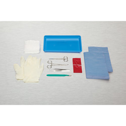 Medline E*Kits Debridement Trays - Kit, Debridement, Sterile