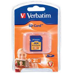 Verbatim Flash Memory Card - 2 Gb - Sd. Sold Individually Picture
