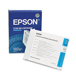 Epson Ink Cartridge for Stylus Color 3000, Pro 5000, Cyan