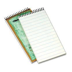 "TOPS Reporters Notebook, Pitman Ruled, 1-Subject, 70 Sheet, 4"" x 8"", White"