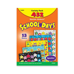 Acid-free And Nontoxic School Days Stickers, 432 Stickers. Sold Individually Picture