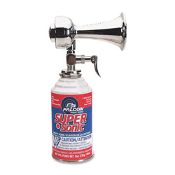 Falcon Safety Super Sonic Horn, Metal, Non-Flammable, Red/White/Blue