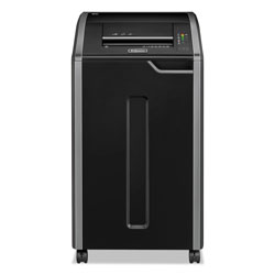 Fellowes Powershred® 38425 C 420C Continuous Use Confetti Cut Paper Shredder, Light Gray/Black
