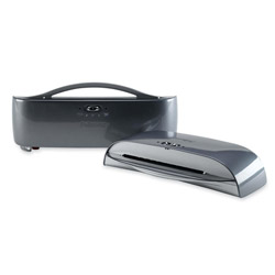 "Fellowes Saturn Laminator, 9 1/2"" Entry, Two Settings"