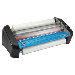 GBC® Laminator with 2-Heat Setting, Bue/Gray