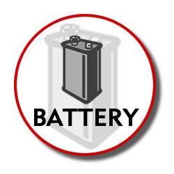 Jasco Battery Kxa36/bt-905/batt3aab. Sold Individually Picture