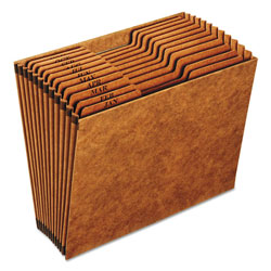Cardinal Heavy Duty Accordion Open Top File, Jan. Dec. Index, 12 x 10,