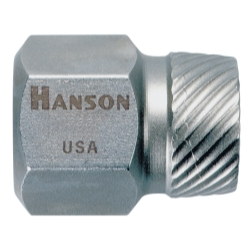 Hanson Hex Head Multi-Spline Screw Extractor - 1/8""