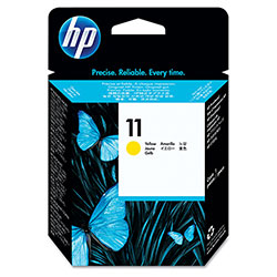 HP 11 Yellow Inkjet Cartridge, Model C4813A, 24,000PGS Page Yield