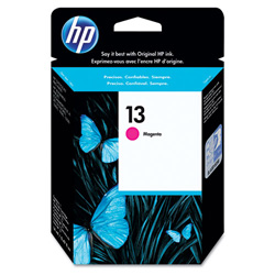 HP 13 Magenta Inkjet Cartridge, Model C4816A, 1,000PGS Page Yield