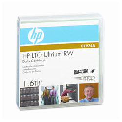 HP Ultrium LTO4 1.6 Tb Rw 800GB Data Cartridge C7974A