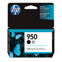 HP Ink Cartridge, 1000 Page Yield, Black