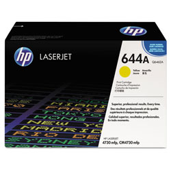 HP Yellow Laser Toner, Model Q6462A