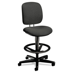 Hon ComforTask Task Swivel Stool, Gray