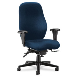 Hon 7800 Series High-Performance High-Back Executive/Task Chair, Tectonic Mariner