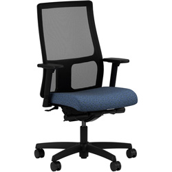 Hon Ignition Series Mesh Swivel Task Chair, Quadrille Mystic
