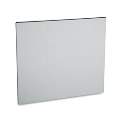 Hon Simplicity II Straight Partition Panel, 53h x 62w, Alumina Gray Fabric