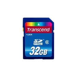 Transcend Flash Memory Card - 32 Gb - Sdhc. Sold Individually Picture