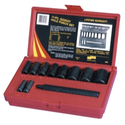 Kastar 11 Piece Gasket Hole Punch Set
