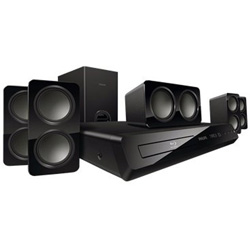 Buy Philips Home Audio - Philips Home Theater Systems HTS3541/F7 HTS3541 - Home Theater System