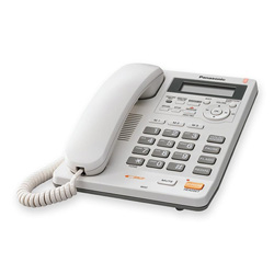 Panasonic Speakerphone w/ Caller ID, White