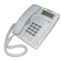 Panasonic Corded Speakerphone with Caller ID and Ringer Indicator, White
