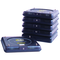 Long Range Systems Guest Paging Smoked Coaster Pagers #6-10