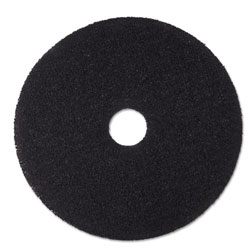 "3M 18"" Black Stripper Floor Pads"