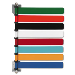 Medline OMD291718 Room ID Flag System, 8 Flags, Pastel Colors