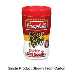 Marjack Soup at Hand, Chicken with Mini Noodles, 10.75 Ounce