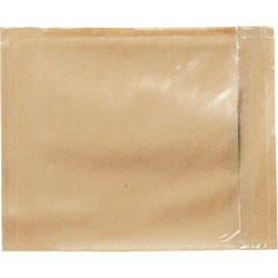 "3M Packing List Envelope, Back Loading, 5 1/2""x4 1/2"", Clear"