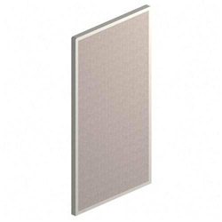 "Maxon Furniture Panel, 66""Wx36""D, Gray"