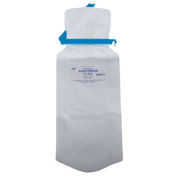 "Medline Refillable Ice Bags - Bag, Ice, Clamp-Close, 5"" x 12"""
