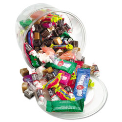 Office Snax Soft & Chewy Candies Mix, 2 lb. Tub