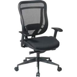 "Office Star Space 818-31G9C18P Executive High Back Chair - 28"" x 28.5"" x 46.5"""