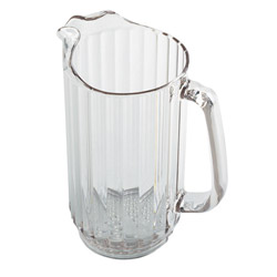 Clear Camwear Polycarbonate Pitcher, 32 Ounce. Case of 6