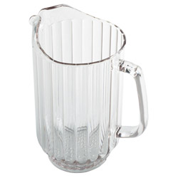 Clear Camwear Polycarbonate Pitcher, 60 Ounce. Case of 6