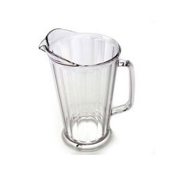 Clear Camwear Polycarbonate Pitcher, 64 Ounce. Case of 6