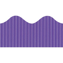 "Pacon Decorative Boarder, 2-1/4"" x 50', Deep Purple"