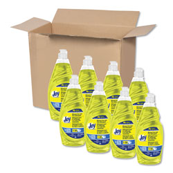 Joy® Dishwashing Liquid, 38 OZ, Lemon Scent, Case of 8