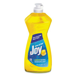 Joy® Dishwashing Liquid, Lemon, 14 Oz Bottle