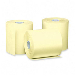 "PM Company Bulk Thermal Rolls for Cash Register/POS, 3 1/8"" x 230 Feet, Canary, 50 Rolls/Carton"