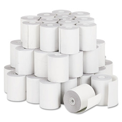 "PM Company Bulk Self Contained Financial Rolls, 1 Ply, 3"" x 140 Feet, 50 Rolls/Carton"