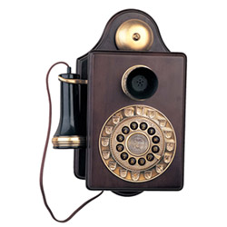 Paramount Collections Antique Wall 1903 Reproduction Novelty Phone