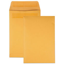 Quality Park Redi Seal™ Catalog Envelopes, Kraft, 6 x 9, 100/Box