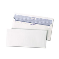 "Quality Park Reveal-n-Seal® Envelope, Security Tint, 4-1/8""x9-1/2"", 500/BX, WE"
