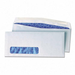 Quality Park Safe Guard Antimicrobial Envelopes, #10, 4 1/8 x 9 1/2, Window