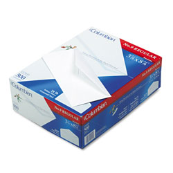 Westvaco Gummed Seal Business Envelope, Executive Style Construction, #9, White, 500/Box